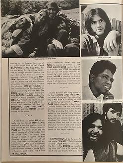 jimi hendrix magazine 1969/ hullbaloo feb 1969
