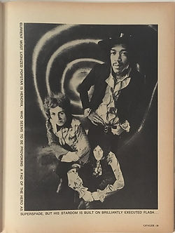 jimi hendrix magazines/ cavalier october 1969