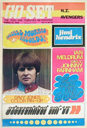 jimi hendrix newspaper 1969/ go set new zealand