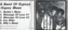 jimi hendrix bootlegs cds 1969/ a band of gypsys : gypsy blues