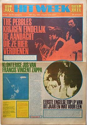 jim hendrix newspaper/hit week 21/6/68 smash hits review