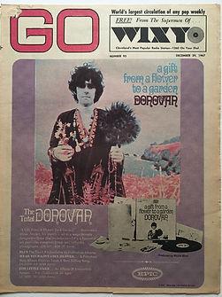 jimi hendrix newspaper/go 29/12/1967