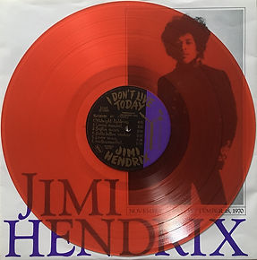 jimi hendrix box lp bootleg album / side f : i don't live today