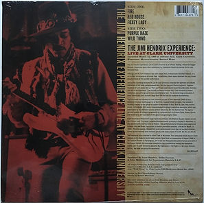 jimi hendrix bootlegs vinyls lps/ live at clark university dagger records 2010
