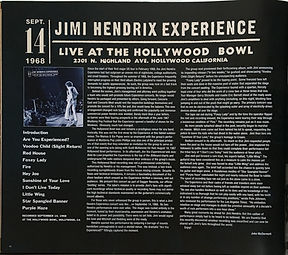 jimi hendrix family edition 2018 live at the hollywood bowl september 14 1968