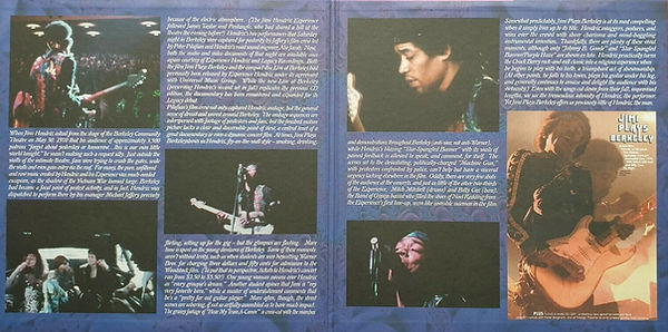 jimi hendrix collector vinyls lp bootlegs / live at berkeley community theatre