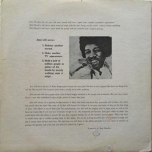jimi hendrix vinyls bootlegs 1970 / a portrait of jimi hendrix