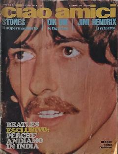 jimi hendrix magazines 1967/ CIAO AMICI october 23, 1967