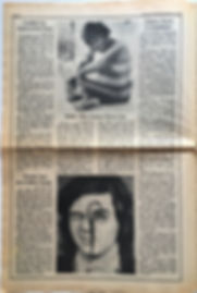 jimi hendrix newspaper 1968 / rolling stone october 12 1968