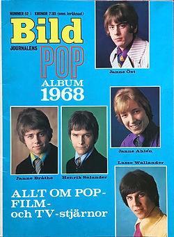 jimi hendrix magazine 1968 / bild journalens pop album 1968
