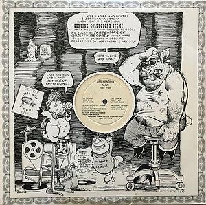 jimi hendrix bootlegs vinyls album 1970 /alive  tmoq