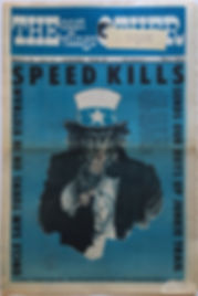 jimi hendrix newspaper/the village other march 8 1968