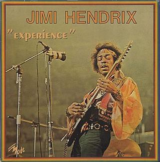 jimi hendrix vinyls album /experience : vogue france 1979