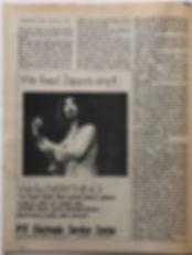 jimi hendrix magazine 1968/hendrix mitchell interview : scene november 1968