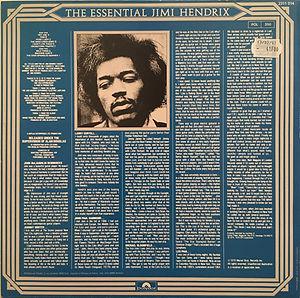 jimi hendrix collector vinyls LPs/Albums/ jimi hendrix essential vol2/1981