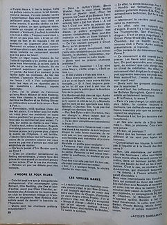 jimi hendrix magazine /rock & folk march 1968/hendrix contre burdon