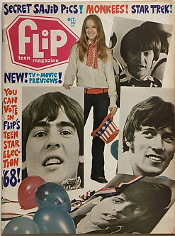 jimi hendrix magazine 1968/flip october 1968