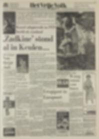 jimi hendrix newspapers 1967 / het vrije volk sept. 15, 1967