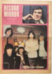 jimi hendrix newspaper/record mirror june 8 1968