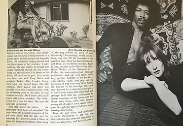 jimi hendrix collector book 1969 / the dee jay book