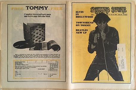 jimi hendrix newspaper 1969/roll stone july 12 1969 : rolling stone july 12 1969 : jim hendrix has a brand new bass