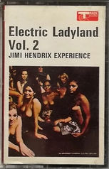 jimi hendrix collector / electric ladyland cassette track record vol 2