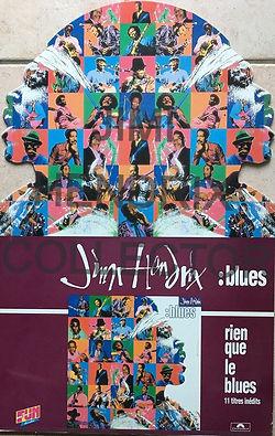 jimi hendrix memorabilia / ad : blues  1994