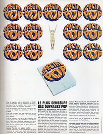 jimi hendrix magazines collector 1967 / les rockers december 12, 1967