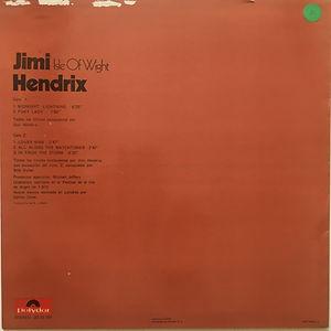 jimi hendrix album vinyl/lps/isle of wight 1971 freedom was censored spanish