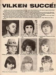 jimi hendrix collector magazine/idol sweden 11/1967