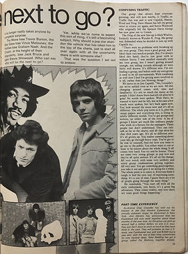 jimi hendrix magazine 1969/rave april 1969