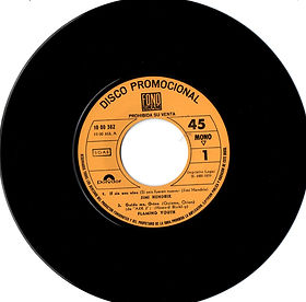 jimi hendrix collector EP vinyls 45r/if 6 was 9 promo polydor spanish 1970