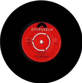 jimi hendrix vinyl single /foxy lady