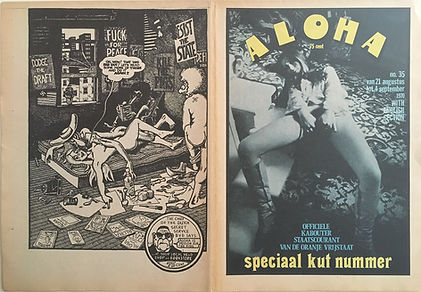 jimi hendrix newspaper 1970 / aloha : august 21, 1970