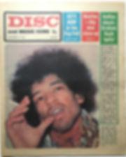 jimi hendrix newspapr 1968 november 16 1968/disc music echo