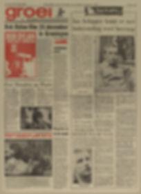 jimi hendrix newspapers 1968/ nieuwsblad van het noorden nov. 8,1968