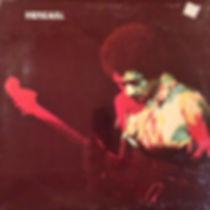 jimi hendrix rotily vinyls collector/band of gypsys
