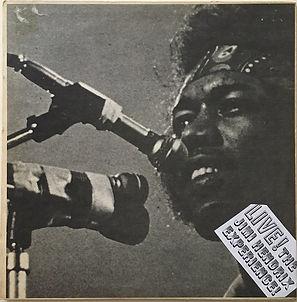 jimi hendrix vinyls bootlegs 1970 /live  jimi experience / figa records