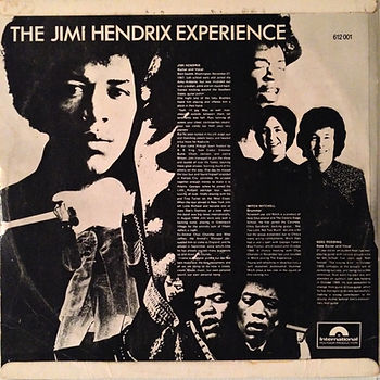jimi hendrix rotily vinyls lp collector/are you experienced 1967 australia