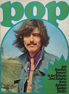 jimi hendrix collector magazine/pop magazine