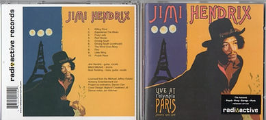 jimi hendrix bootlegs cds/live at l'olympia paris/ radioactive records