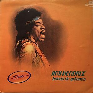 jimi hendrix album vinyl/bande de gitanos 1975/promotion