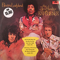 jimi hendrix collector/electric ladyland reissue 1975 israel