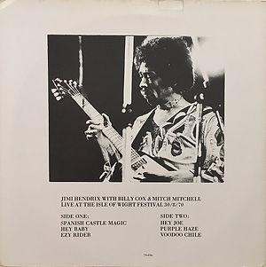 jimi hendrix bootlegs vinyls 1970 / last british concert