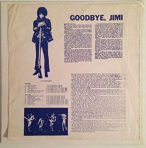 good bye jimi/jimi hendrix collector jimi rotily