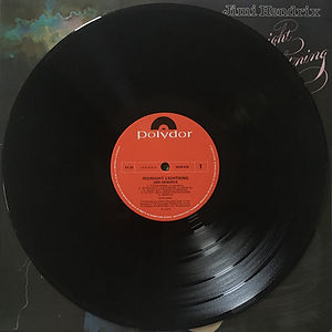 jimi hendrix vinyl album side 1 : midnight lightning  / 1975 australia