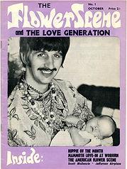 jimi hendrix magazine 1967 / the flower scene october 1967