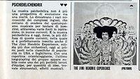 jimi hendrix magazine  1968 / giovani  1968 review : axis bold as love