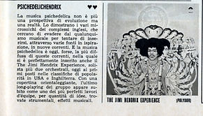 jimi hendrix magazine  1968 / giovani march  1968 review : axis bold as love