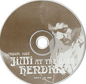 jimi hendrix collector bootlegs cds/jimi at the beeb london 1967